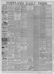 Portland Daily Press: October 07,1881