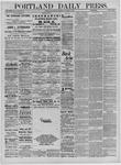 Portland Daily Press: October 08,1881
