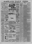 Portland Daily Press: October 10,1881