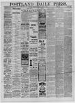 Portland Daily Press: October 12,1881