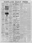 Portland Daily Press: October 14,1881