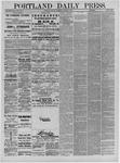 Portland Daily Press: October 17,1881