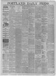 Portland Daily Press: October 18,1881