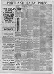 Portland Daily Press: October 19,1881