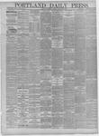 Portland Daily Press: October 26,1881