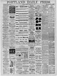 Portland Daily Press: October 27,1881