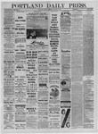 Portland Daily Press: October 28,1881
