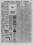 Portland Daily Press: October 29,1881