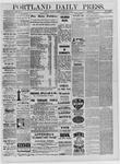 Portland Daily Press: October 31,1881