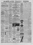 Portland Daily Press: November 01,1881