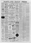 Portland Daily Press: November 02,1881