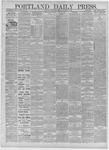 Portland Daily Press: November 03,1881