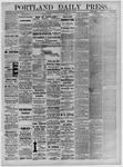 Portland Daily Press: November 07,1881