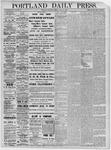 Portland Daily Press: November 10,1881