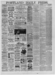 Portland Daily Press: November 11,1881