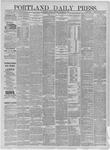 Portland Daily Press: November 14,1881