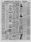 Portland Daily Press: November 15,1881