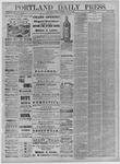 Portland Daily Press: November 16,1881