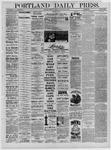 Portland Daily Press: November 17,1881