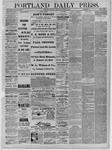 Portland Daily Press: November 19,1881