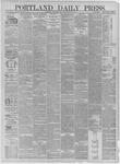 Portland Daily Press: November 21,1881