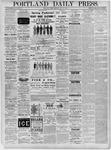 Portland Daily Press: November 22,1881