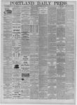 Portland Daily Press: November 24,1881