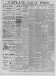 Portland Daily Press: November 26,1881
