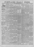 Portland Daily Press: November 28,1881