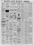 Portland Daily Press: November 29,1881