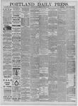Portland Daily Press: November 30,1881