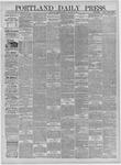 Portland Daily Press: December 02,1881