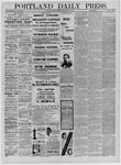 Portland Daily Press: December 03,1881