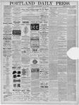Portland Daily Press: December 06,1881