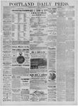 Portland Daily Press: December 07,1881