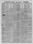 Portland Daily Press: December 08,1881