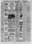 Portland Daily Press: December 09,1881
