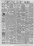 Portland Daily Press: December 13,1881