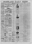 Portland Daily Press: December 22,1881