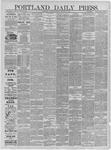Portland Daily Press: December 23,1881