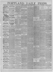 Portland Daily Press: December 24,1881