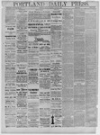 Portland Daily Press: December 26,1881