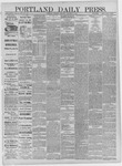 Portland Daily Press: December 28,1881