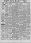 Portland Daily Press: December 30,1881