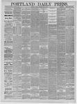 Portland Daily Press: May 01,1885