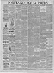 Portland Daily Press: May 02,1885