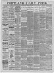 Portland Daily Press: May 04,1885
