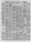 Portland Daily Press: May 05,1885