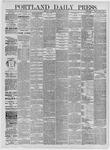 Portland Daily Press: May 06,1885