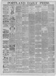 Portland Daily Press: May 09,1885